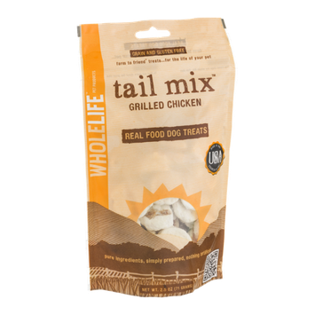 Whole Life Tail Mix Real Food Dog Treats Grilled Chicken