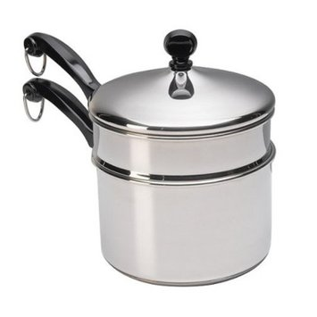 Farberware Classic 2-qt. Saucepan with Double Boiler