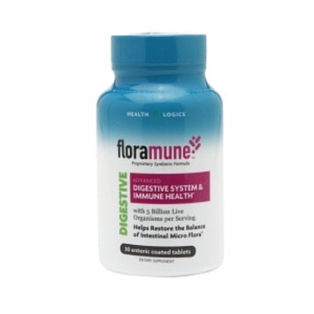 Health Logics Floramune Advanced Digestive System & Immune Health, Tablets, 30 ea