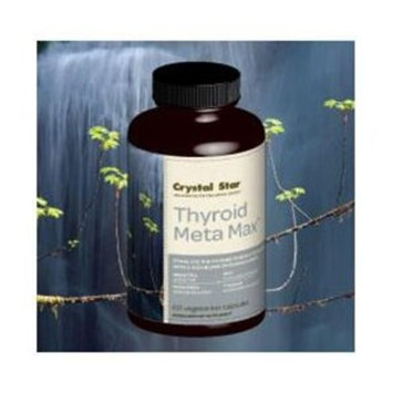 Crystal Star Thyroid Meta-Max - 60 - Capsule [Health and Beauty]