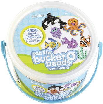 Perler Beads Perler Fun Fusion Fuse Bead Activity Bucket-Sea