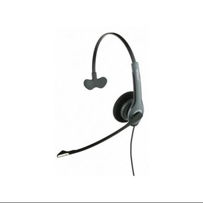 GN Netcom 2020-NC w/ 2.5mm Adapter Over the Head Monaural Headset w/ PeakStop & Noise Canceling Mic