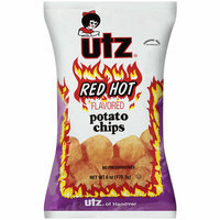 Utz Red Hot Flavored Potato Chips