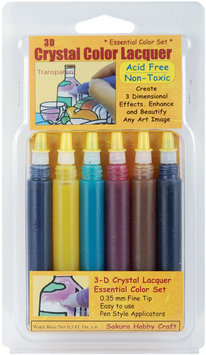 Sakura Hobby Craft Essential -Crystal Lacqr 6Color