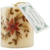 Auroshikha Flower Candle Small Cylinder Jasmine 1 Candle