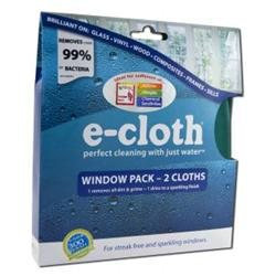E-Cloth 10615W Window Cleaning Pack