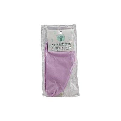 Earth Therapeutics - Moisturizing Foot Socks Lavender - 1 Pair