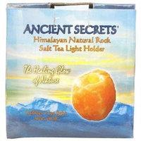 Frontier Ancient Secrets, Himalayan Natural Rock Salt Tea Light Holder Small 1 Lamp