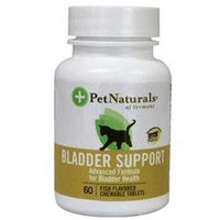 Pet Naturals of Vermont Bladder Support for Cats 60 Fish Flavored Chewable Tablets