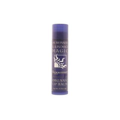 Dr. Bronners - Magic Organic Lip Balm Peppermint - 0.15 oz.