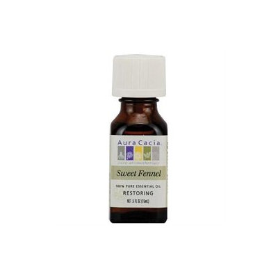 Aura Cacia Essential Oil Fennel Seed - 0.5 fl oz