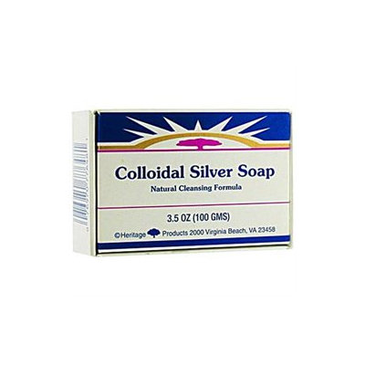 Soap Bar Colloidal Silver 3.5 Oz By Heritage Store (1 Each)