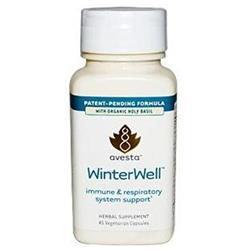 Avesta Ayurceutics WinterWell Immune & Respiratory 45 Vegicaps