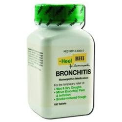 HEEL Bronchitis - 100 Tablets - Other Homeopathics