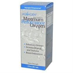 Aquagen Maximum Performance Oxygen - 2 fl oz