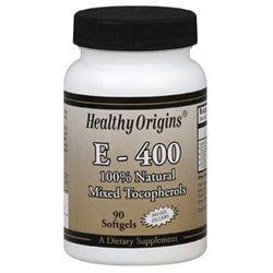 Healthy Origins - Vitamin E 400 IU