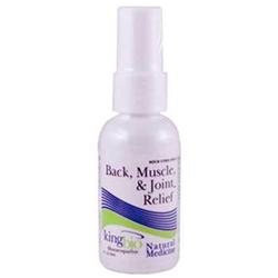 King Bio Homeopathic Back Neck Muscle and Joint Relief - 2 fl oz