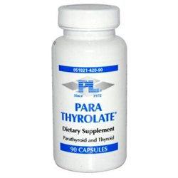 Progressive Laboratories, Inc 0522656 Professional Supplements Para Thyrolate - 90 Capsules
