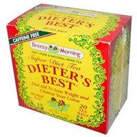 Breezy Morning Teas Dieter's Best Super Diet Tea Herbal Tea Caffeine Free 20 Bags