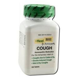 HEEL Cough - 100 Tablets - Immune Support Herbs