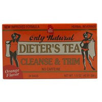 Only Natural Cleansing Diet Tea Orange - 24 Tea Bags