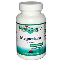 Allergy Research nutricology Allergy Research (Nutricology) Magnesium Citrate 170 MG - 90 Capsules - Magnesium