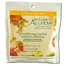 tures Alchemy Nature's Alchemy Aromatherapy Herbal Mineral Baths Joyful Heart - 3 oz