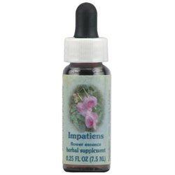 Flower Essence Services - Healing Herbs Dropper Impatiens - 0.25 oz.