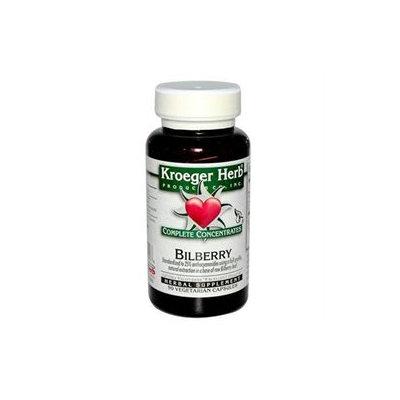 Kroeger Herbs - Complete Concentrate Bilberry 50 mg. - 90 Vegetarian Capsules