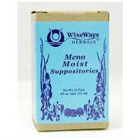 Wise Ways - Meno Moist Suppositories - 12 Packs