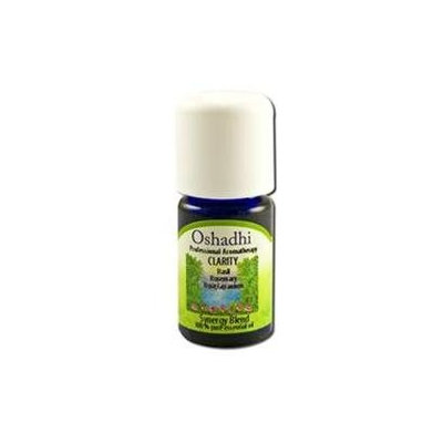 Oshadhi - Professional Aromatherapy Clarity Synergy Blend Essential Oil - 5 ml.