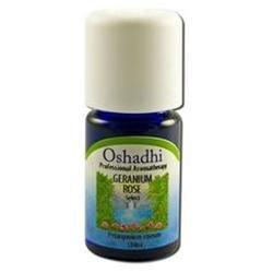 Oshadhi - Professional Aromatherapy Rose Geranium Organic Essential Oil - 5 ml.