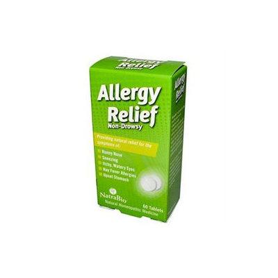 NatraBio Allergy Relief Non-Drowsy Tablets, 60 ea
