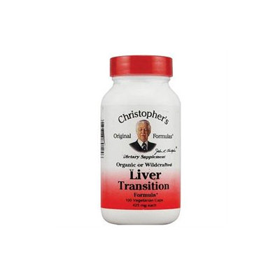 Liver Transition Formula, 425 mg, 100 Vegicaps, Christopher's Original Formulas