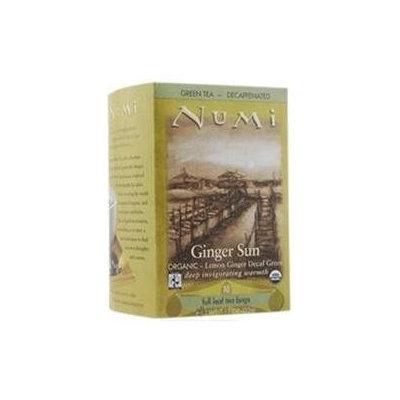 Numi Organic Tea Decaf Ginger Lemon - 16 Tea Bags