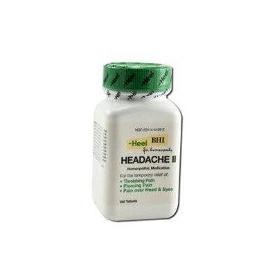 Heel BHI Headache II Homeopathic Medication - 100 Tablets