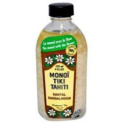 Monoi Tiare Tahiti - Coconut Oil Sandalwood - 4 oz.