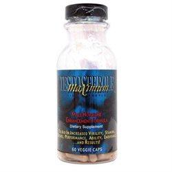 Maximum International Testosterole Maximum Libido Complex - 60 Vegetarian Capsules