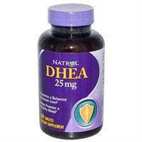 Natrol 645317 DHEA, 25 mg - 300 Tablets