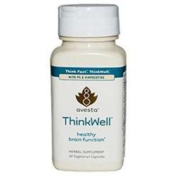 Frontier ThinkWell by Savesta - 60 Vegetarian Capsules