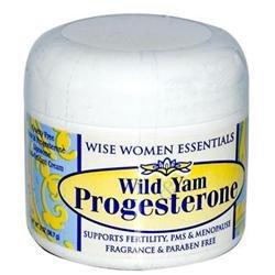 Wild Yam & Progesterone JAR 2 OZ by Wise Woman Essentials