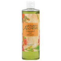 tures Alchemy Nature's Alchemy, Grapeseed Oil with Vitamin E 16 fl oz