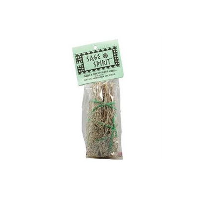 Sage Spirit Small Native American Incense Sage and Sweetgrass - 5 Incense