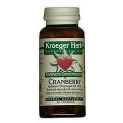 Kroeger Herb Cranberry 18% 90 Capsules