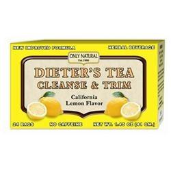 Only Natural Cleansing Diet Tea Lemon 24 Bags