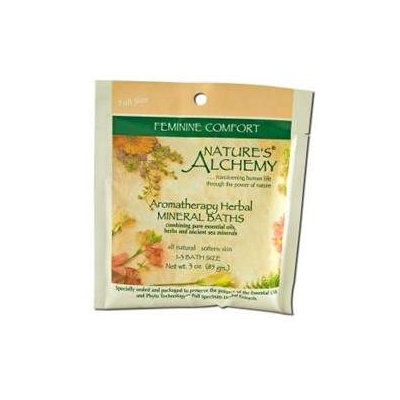 tures Alchemy Nature's Alchemy Aromatherapy Herbal Mineral Baths Feminine Comfort - 3 oz