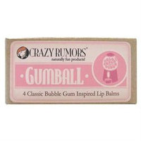 Crazy Rumors Gumball Lip Balm 4-Pack Gift Set