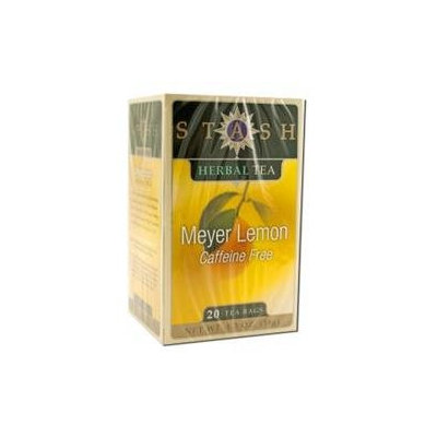 Stash Premium Herbal Tea Caffeine Free Meyer Lemon - 20 Tea Bags