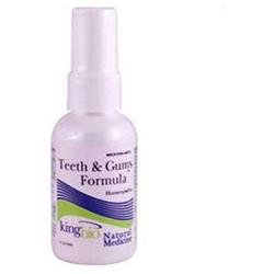 King Bio Homeopathic Teeth and Gums Formula - 2 fl oz
