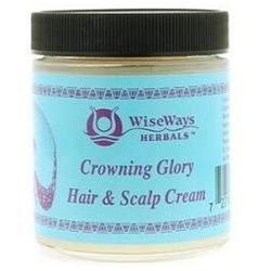 Wise Ways - Crowning Glory Hair and Scalp Cream - 4 oz.